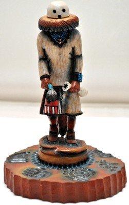 17: Hopi Eototo Kachina Chief Cottonwood Kachina - Ste