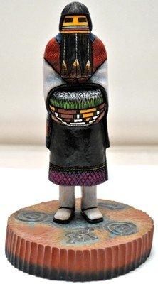 20: Hopi Hemis Kachin Mana Hemis Kachina Girl Cottonwo