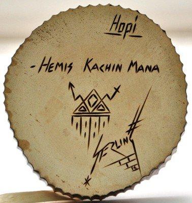 20: Hopi Hemis Kachin Mana Hemis Kachina Girl Cottonwo - 5