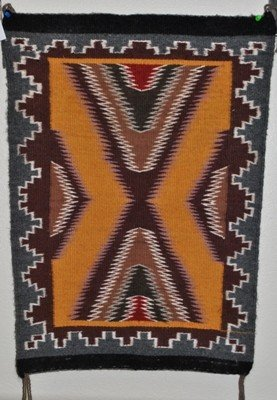 542: Navajo Multi-Color Rug