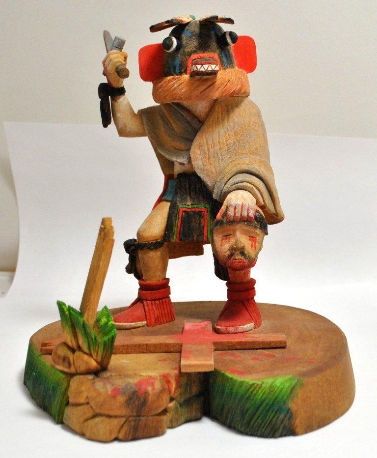 1: Hopi Yowe the Priest Killer Kachina - Waapaataka Ami