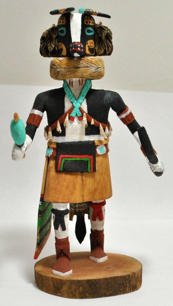 5: Hopi Kachina - Joseph Duwyenie