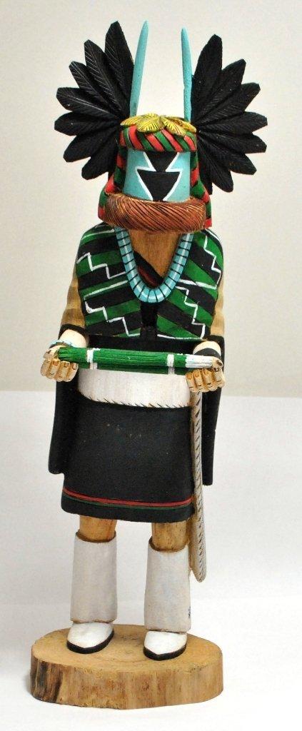 6: Hopi Crowmother Kachina - Earl Arthur