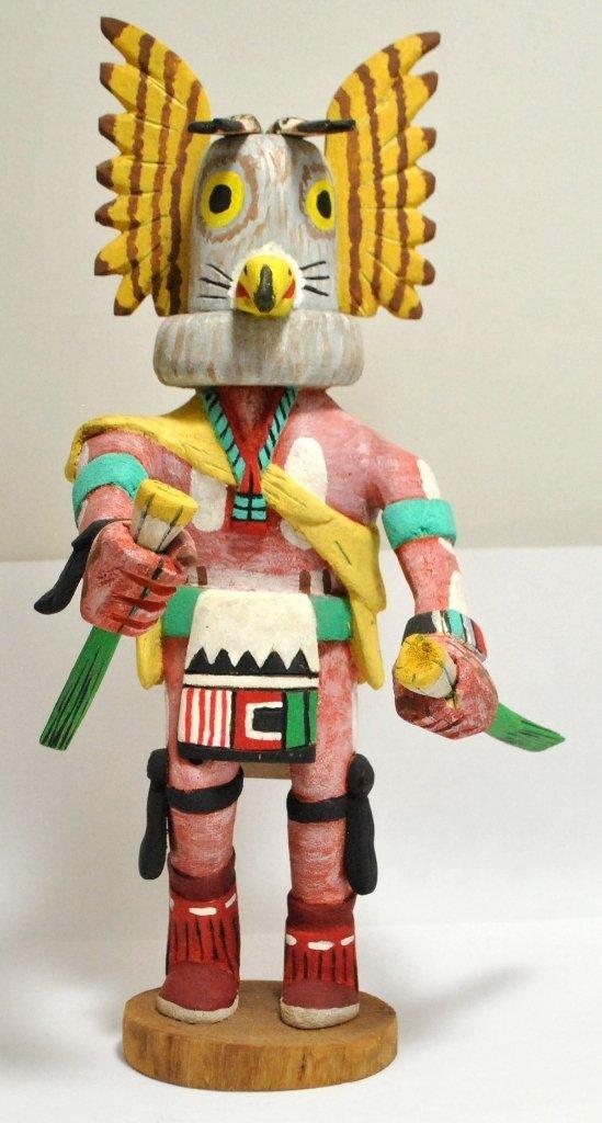 10: Hopi Mongwa Kachina - Shirley Adams