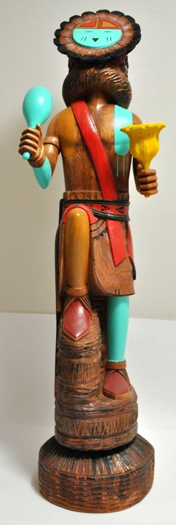 12: Hopi Sun Face Kachina - Jimmy Segina