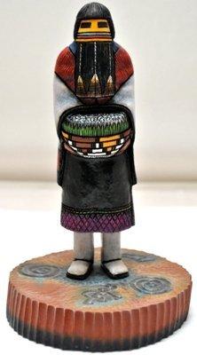 18: Hopi Hemis Kachin Mana Hemis Kachina Girl Cottonwoo
