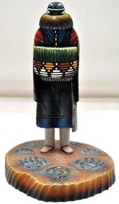 19: Hopi Angwusnasomtaqa Crow Mother Cottonwood Kachina