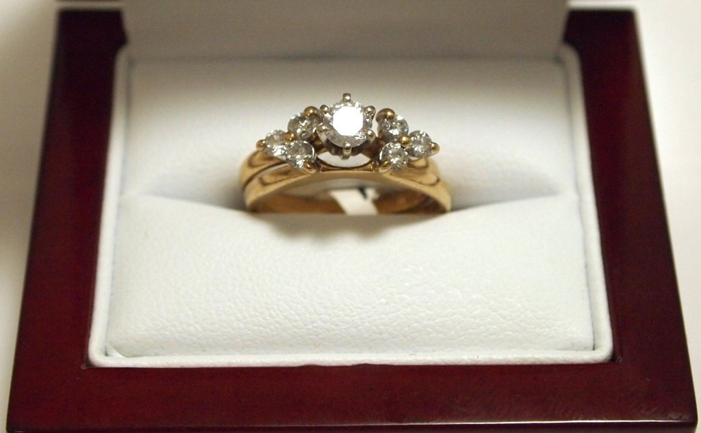 Dead Pawn Non-Native Diamond 14k Gold Women's Complemen