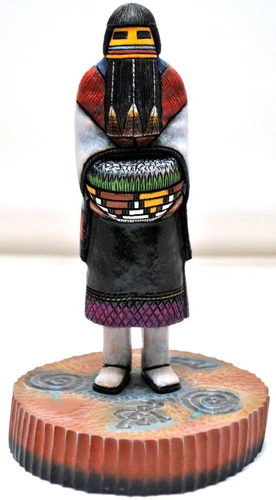 Hopi Hemis Kachin Mana Hemis Kachina Girl Cottonwood Ka
