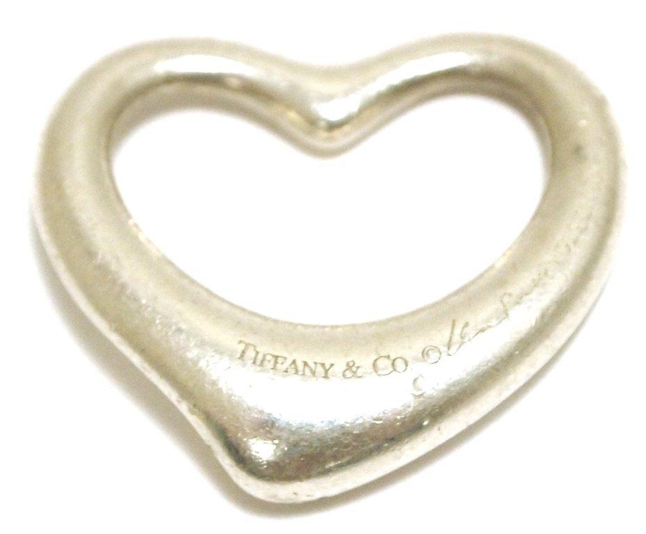 Non-Native Pawn Sterling Silver .925 Heart Pendant - El