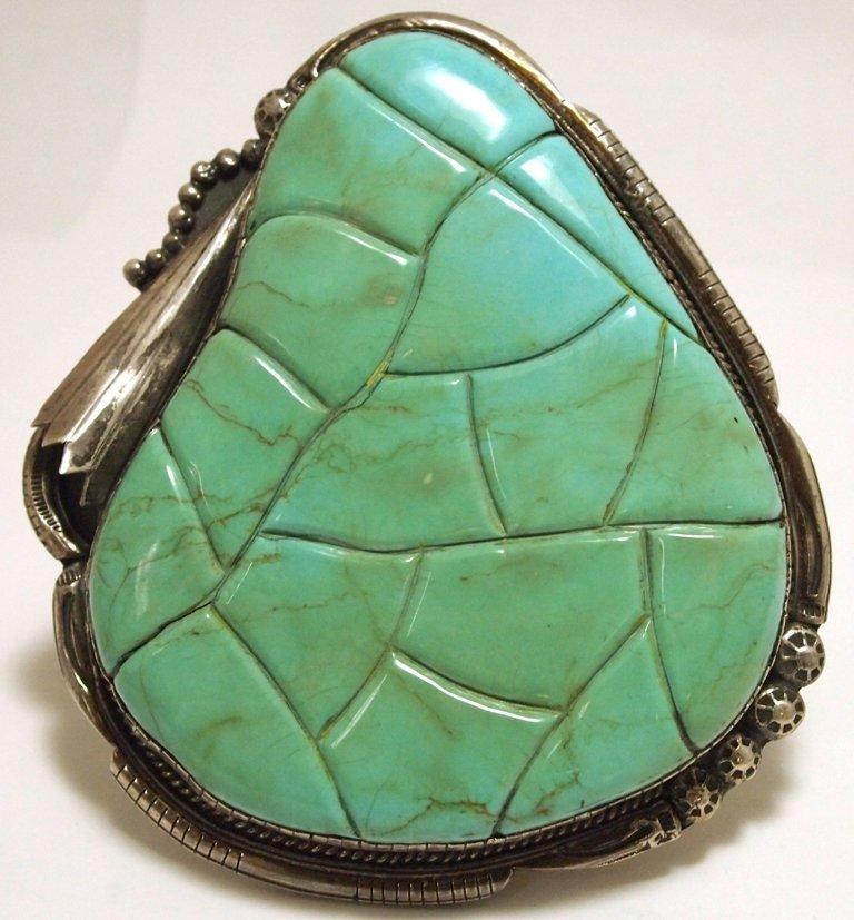 Vintage Old Pawn Navajo King's Manassa Turquoise