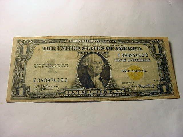 2: 1935 A NORTH AFRICA $1.00 SILVER CERTIFICATE