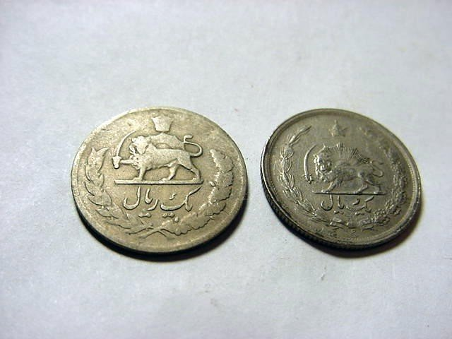 23: [2] EARLY PERSIAN COINS