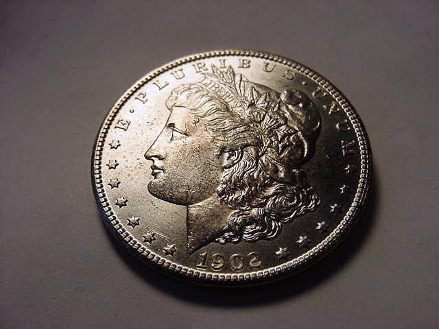 2: 1902-O MORGAN DOLLAR B.U.