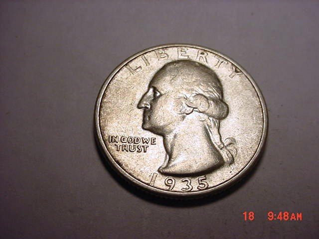 12: 1935 WASHINGTON QUARTER