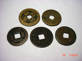 21: [5] CHINESE CASH COINS