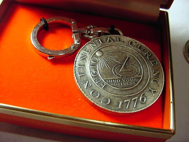 17: CONTINENTAL DOLLAR KEY RING