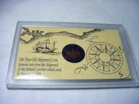 1809 ADMIRAL GARDINER SHIPWRECK COIN