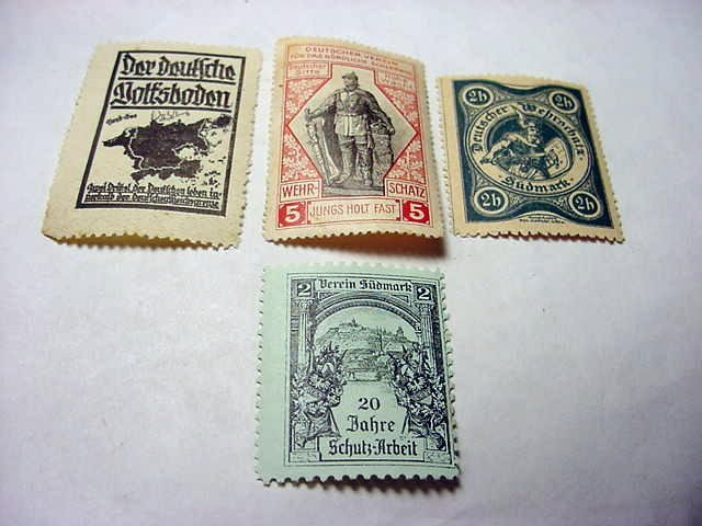 68: EARLY GERMAN STAMPS