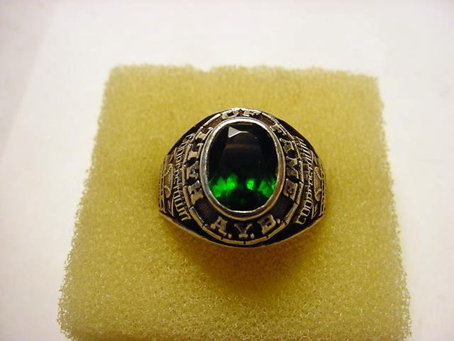 79: COOPERSTOWN LITTLE MAJORS STERLING RING