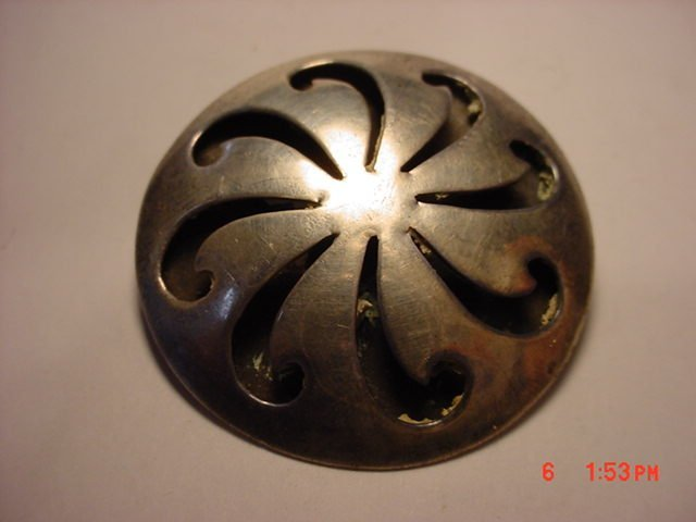187: MEXICAN STERLING PIN