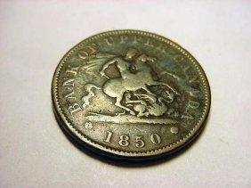 1850 CANADA BANK TOKEN