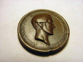 1843 DUC D' ORLEANS MEDAL