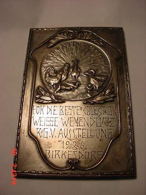 5: 1926 GERMAN MEDAL