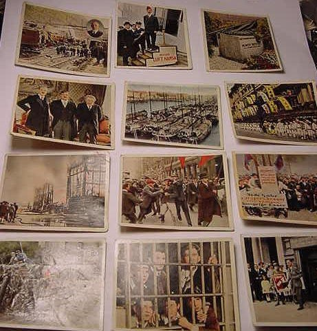 13: [12] GERMAN CIGARETTE CARDS