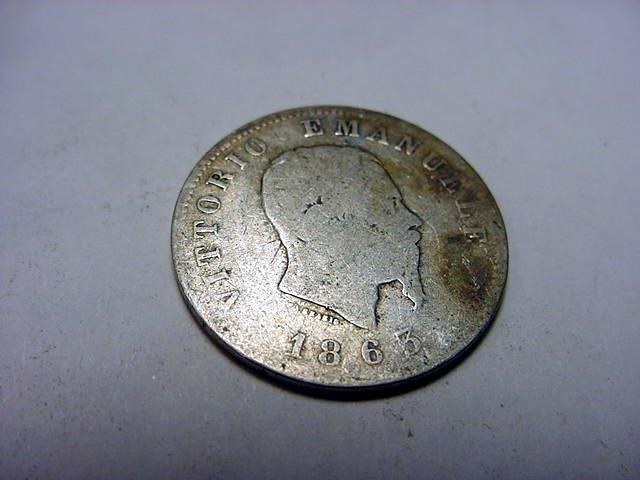 16: 1863 ITALY LIRE