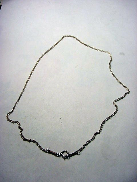 25: TIFFANY & CO. PERETTI STERLING CHAIN