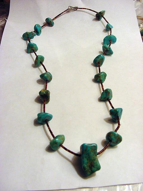 3: NAVAJO TURQUOISE NECKLACE