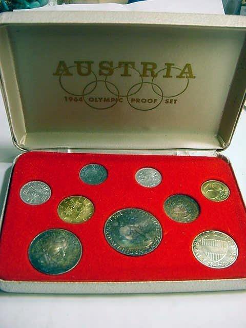 75: 1964 AUSTRIA OLYMPIC PROOF SET