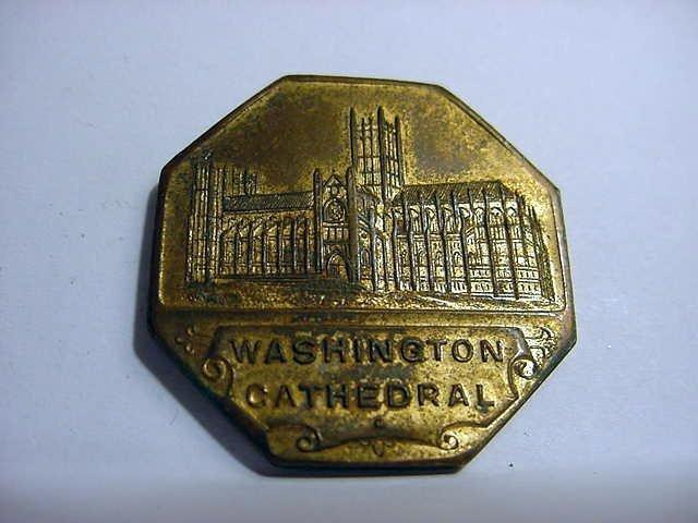 80: WASHINGTON CATHEDRAL MEDAL