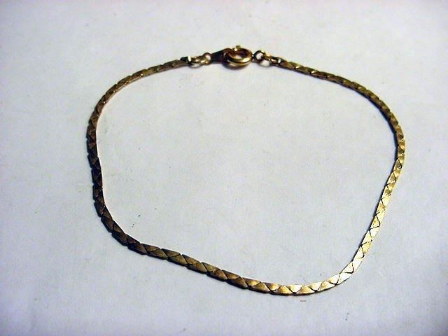 81: VINTAGE 14K GOLD FILLED BRACELET