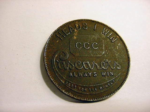 89: CASCARETS ADVERTISING MEDAL - 2