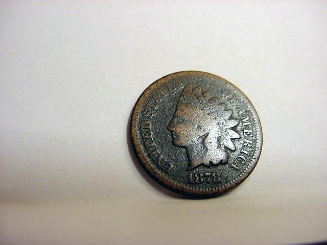 93: 1878 INDIAN CENT