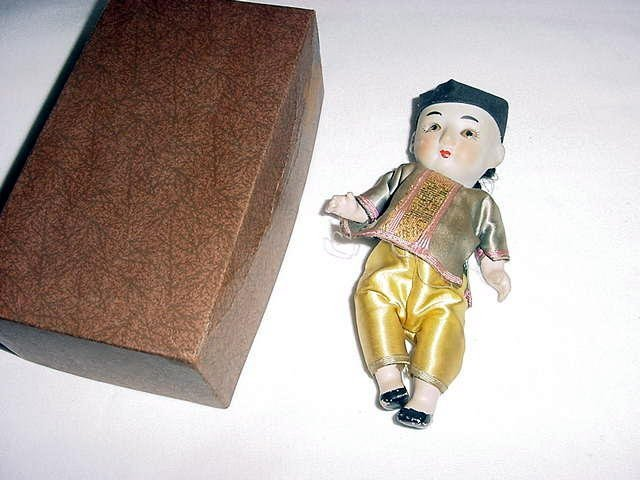 3: ANTIQUE CHINESE BISQUE DOLL