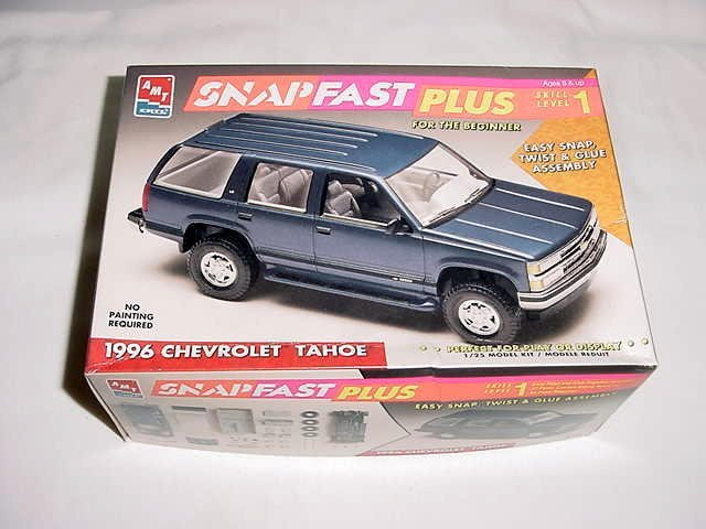 10: 1996 CHEVY TAHOE SNAPFAST MODEL IN ORIGINAL BOX