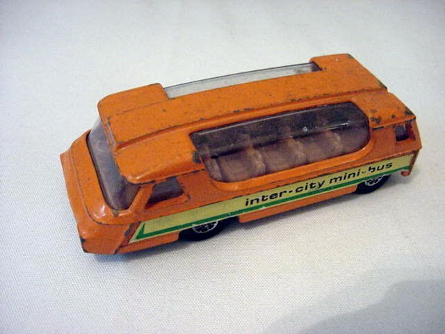 12: VINTAGE CORGI MINI BUS