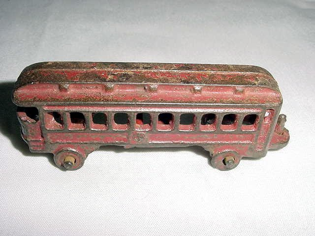 16: ANTIQUE CAST IRON TRAIN CAR