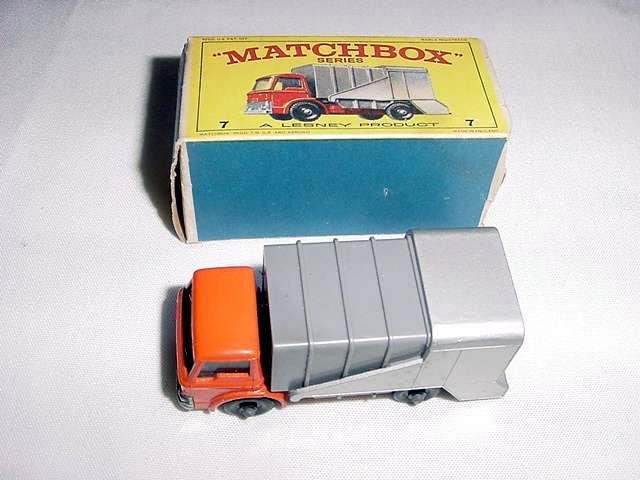 18: MATCHBOX TRUCK IN ORIGINAL BOX