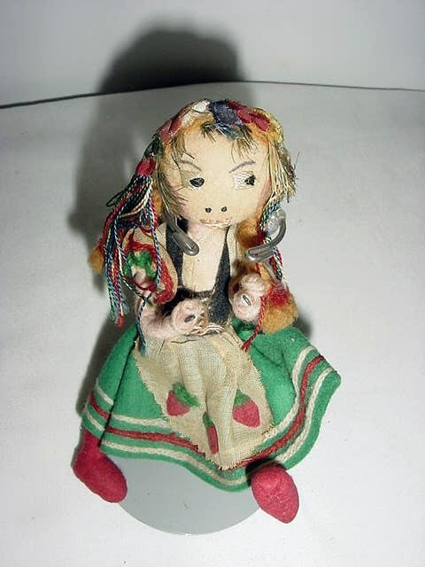 23: UNUSUAL HAND MADE DOLL