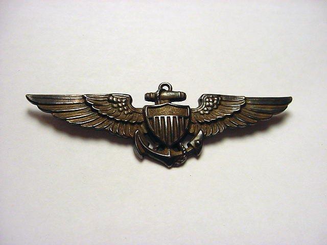 14: WWII NAVY PILOTS STERLING WINGS
