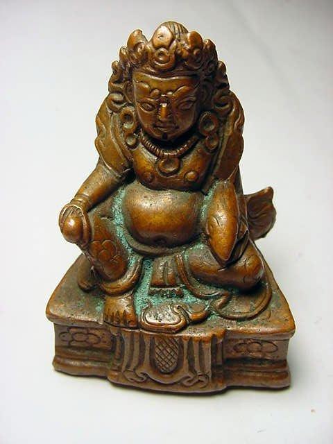 3: VINTAGE ASIAN BRONZE BUDDHA