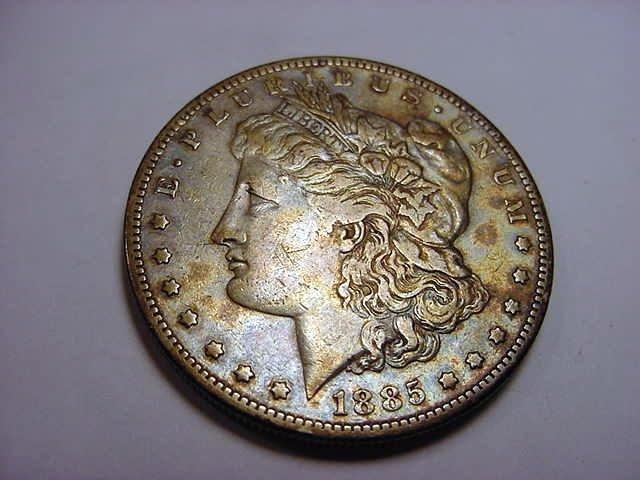 4: 1885-S MORGAN DOLLAR