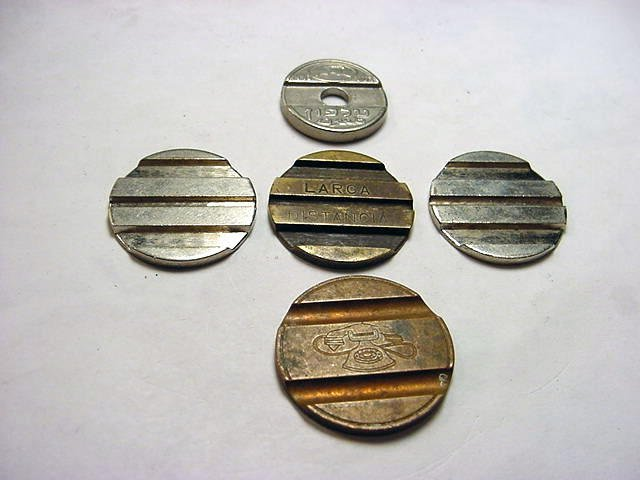 92: TELEPHONE TOKENS LOT
