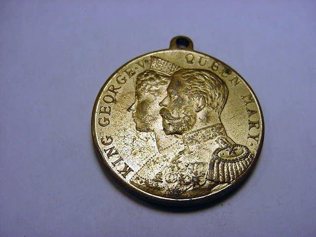 14: 1911 KING GEORGE V CORONATION MEDAL