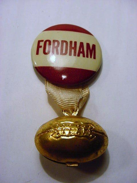 14: VINTAGE FORDHAM FOOTBALL PIN