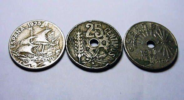 16: SPANISH COIN LOT